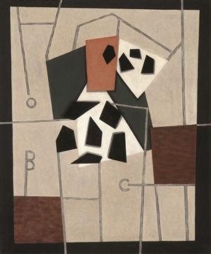 composition by george l.k. morris