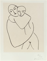 vierge et enfant, no 1 (mother and child, no 1) by henri matisse