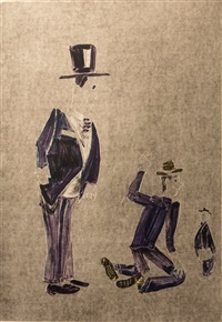 untitled / 3 generations by william wegman