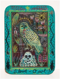 blood owl by tony fitzpatrick
