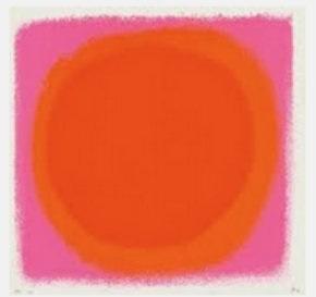 rot-orange by rupprecht geiger