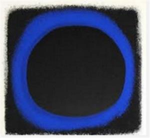 blau-schwarz by rupprecht geiger