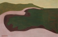 green seascape by milton avery