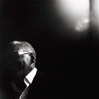 ray charles<br/> interview by michel comte