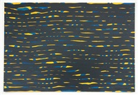 horizontal brushstrokes by sol lewitt