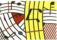 composition iv by roy lichtenstein