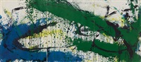 untitled (a7014) by norman bluhm