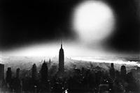 atom bomb sky, new york by william klein