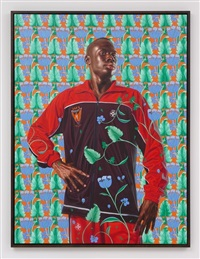 ferdinand-philippe-louis-henri, duc d'orleans by kehinde wiley