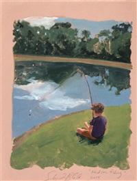 hudson fishing by sebastian blanck