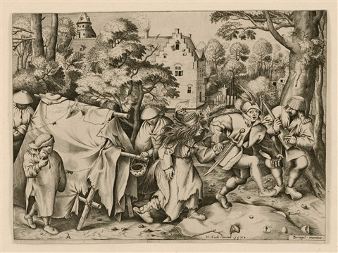 the wedding of mopsus and nisa by pieter brueghel the elder