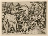 the wedding of mopsus and nisa by pieter brueghel the elder