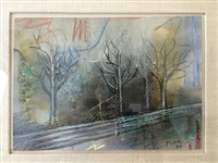 winter trees by henry moore