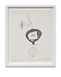 bomb drawing 4 by joe goode