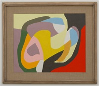 slip stream, #5 by frederick hammersley