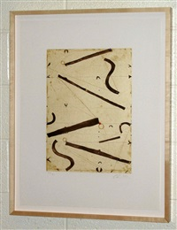 seven string etching no. 10 by caio fonseca