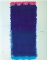 blaue chromatik by heinz mack