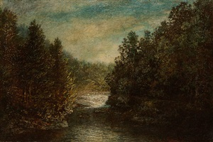emerald pool by ralph albert blakelock