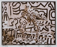 keith haring, new york by annie leibovitz