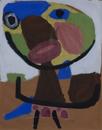 'personage 1951' by karel appel