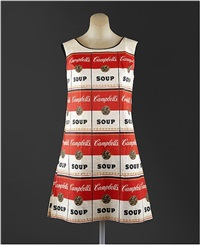 the souper dress by andy warhol