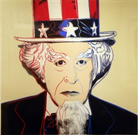 uncle sam, from myths fs ii.259 by andy warhol