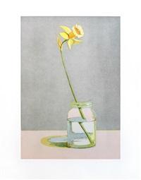daffodil by wayne thiebaud