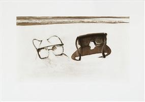 dark glasses by wayne thiebaud