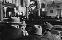 saturday in the synagogue, leningrad by henri cartier-bresson