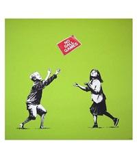 no ball games green by banksy