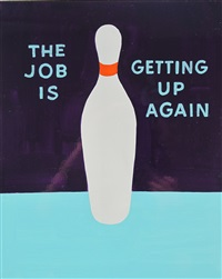 the job is getting up again by stephen powers