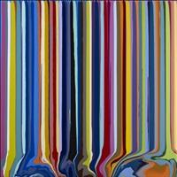 colourcade: blue, pink by ian davenport