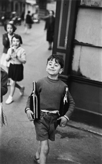 rue mouffetard, paris by henri cartier-bresson