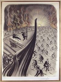 symphony bicyclette by salvador dalí