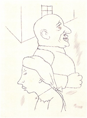 paar by george grosz