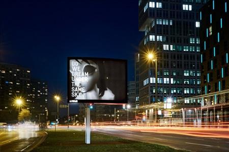 open source art at the eclipse of capitalism. rirkrit tiravanija billboards on view by rirkrit tiravanija