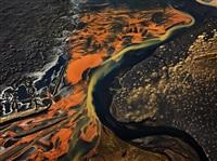 eystri-rangá river, iceland by edward burtynsky
