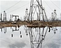 socar oil fields #3, baku, azerbaijan by edward burtynsky