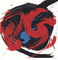 artwork 1 by kazuo shiraga