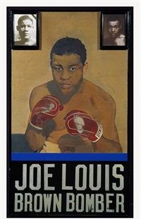 joe lewis - brown bomber by peter blake