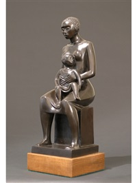 mother and child by elizabeth catlett