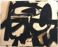 study for ninth street by franz kline