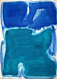 abstract composition (sff 314) by sam francis