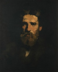 portrait of mr. barnum by william merritt chase