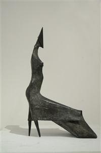 maquette iii high wind (801) by lynn chadwick