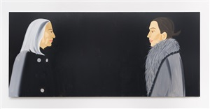 ada and vivien by alex katz