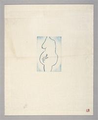 self portrait (la nausée) by louise bourgeois