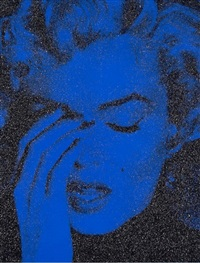 marilyn crying (new york) by russell young