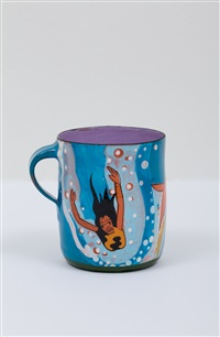 untitled happy's curios cup by ken price