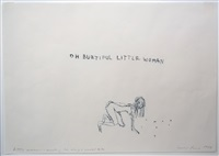 little woman - something i always wanted to be by tracey emin